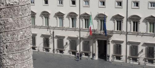 Palazzo Chigi, la sede del Governo.