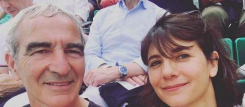 Raymond Domenech et Estelle Denis seraient en froid selon Ruquier. ©estelledenis Instagram
