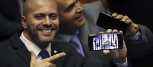 Deputado Daniel Silveira (PSL). (Arquivo Blasting News)