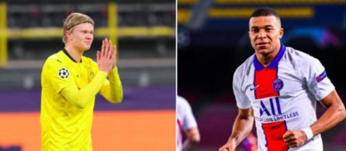 Haaland lance la rivalité avec Kylian Mbappé - © captures Instagram erling.haaland/k.mbappe