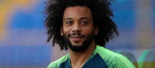 Marcelo, terzino del Real Madrid.