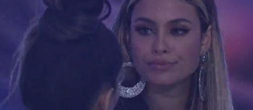 Sarah e Juliette comentam interesse de Karol em Rodolffo no 'BBB21'. (Reprodução/TV Globo)