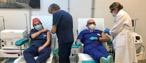 Vaccinazione operatori sanitari.