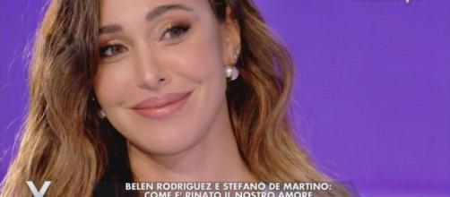 Belen Rodriguez svela il nome della sua secondogenita.