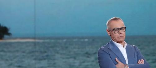 El presentador Jordi González durante un debate de 'Supervivientes'