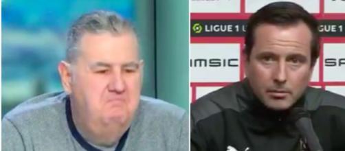 Julien Stéphan répond aux attaques de Pierre Ménès - ©capture d'écran vidéo