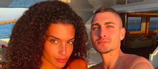 Marco Verratti et sa femme font le buzz sur les réseaux sociaux - ©Photo capture d'écran instagram Jessica Aldi