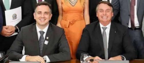 Após vitória de Rodrigo Pacheco, Bolsonaro comemora eleição. (Arquivo Blasting News)