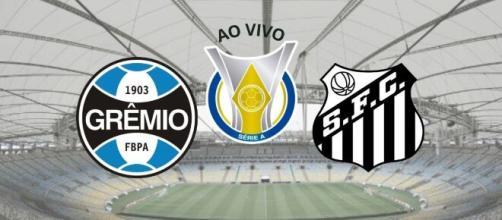 Grêmio x Santos tem transmissão ao vivo no Premiere. (Arquivo Blasting News)