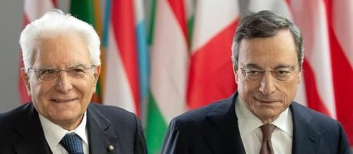 Mario Draghi incaricato di formare il nuovo governo da Mattarella.