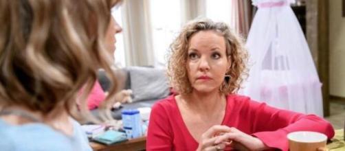 Tempesta d'amore, Melanie Wiegmann lascia la soap per dedicare tempo alla famiglia.
