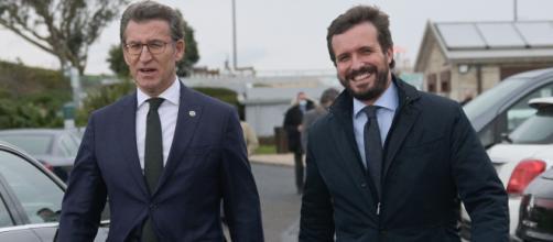 Desde el PP de Galicia niegan que Núñez Feijoó quiera relevar a Casado