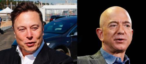 Jeff Bezos le arrebata el primer lugar a Elon por diferencia de mil millones