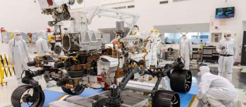 Memes del aterrizaje del Rover Perseverance en Marte