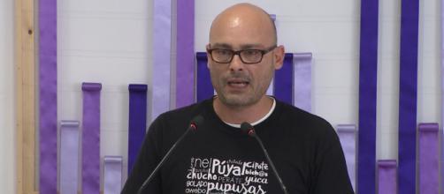 Txema Guijjaro cree que Carmen Calvo es una figura que aviva las diatribas entre el PSOE y Podemos