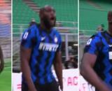 Les insultes et le chambrage de Lukaku envers Ibrahimovic - Photo captures d'écran vidéo Bein