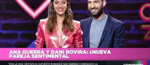 Ana Guerra y Dani Rovira. Una nueva pareja sentimental