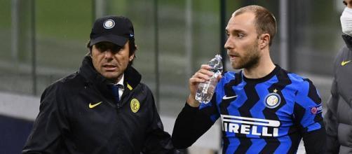Inter, Conte esalta Christian Eriksen.