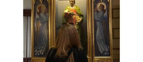 La publicación de Belén Esteban rezándole a San Judas Tadeo