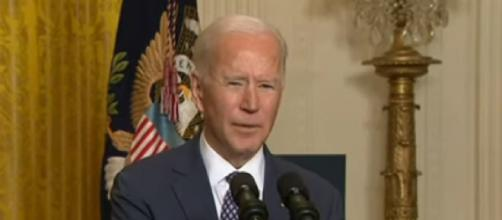 President Biden plans to visit Texas and declare a major disaster after winter storm. [Image source/Sky News Australia YouTube video]