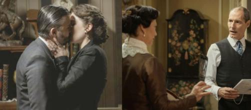 Una vita trame al 26/02: bacio tra Felipe e Genoveva, Bellita sospetta di Jose Miguel.