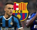 Inter, il Barcellona avrebbe messo gli occhi su Lukaku e Lautaro (Rumors).