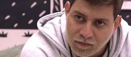 'BBB21': Caio se machucou no reality. (Reprodução/TV Globo)