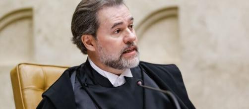 Dias Toffoli disse que alguém financiou ataques contra ministros do STF. (Arquivo Blasting News)
