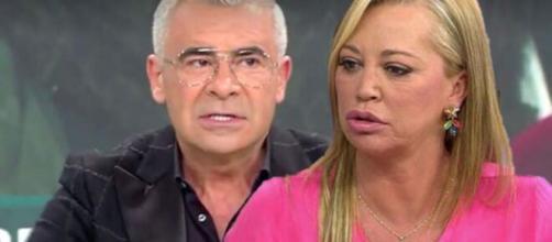 Jorge Javier Vázquez y Belén Esteban discutieron y ella no ha vuelto a aparecer en el programa.