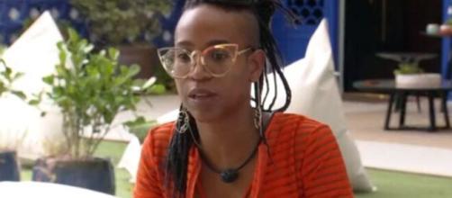 Karol deve ser a eliminada da semana no 'BBB21'. (Reprodução/TV Globo)