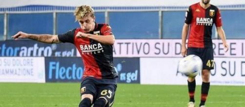 Nicolò Rovella, in prestito al Genoa.