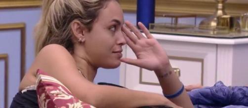 Sarah especula possível saída de Karol no 'BBB21'. (Reprodução/TV Globo)
