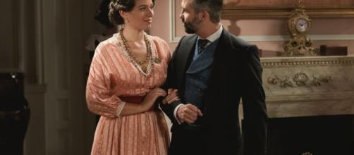 Una vita, anticipazioni: Felipe sconvolto all'idea che Genoveva sia incinta.