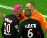 Ennjimi donne quelques conseils pour arbitrer Neymar et Verratti - Photo capture d'écran vidéo Youtube