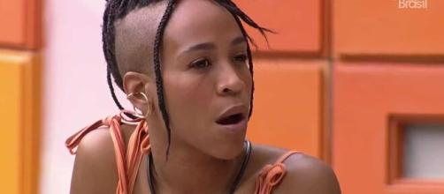 A sister defendeu que não quer deixar o 'BBB21'. (Reprodução/TV Globo)