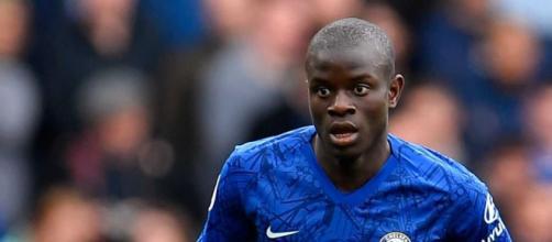 N'Golo Kanté, centrocampista del Chelsea.