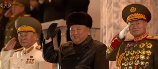 'The world's most powerful weapon': North Korea parades new missile. [Image source: Al Jazeera/YouTube]