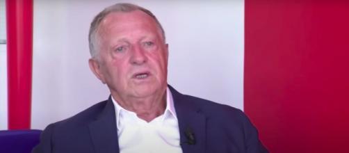 Le président de l'OL Jean Miche Aulas n'a pas hésité à tacler le football français - Photo capture d'écran vidéo Youtube