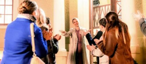 Tempesta d'amore, trame tedesche: Rosalie trascurerà il legame con Michael per la carriera politica.