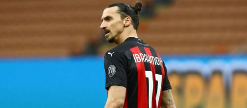 Zlatan Ibrahimovic, attaccante del Milan.