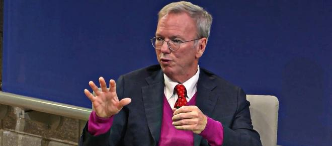 Former Google CEO Eric Schmidt warns China's advancing technology is 'a national crisis'