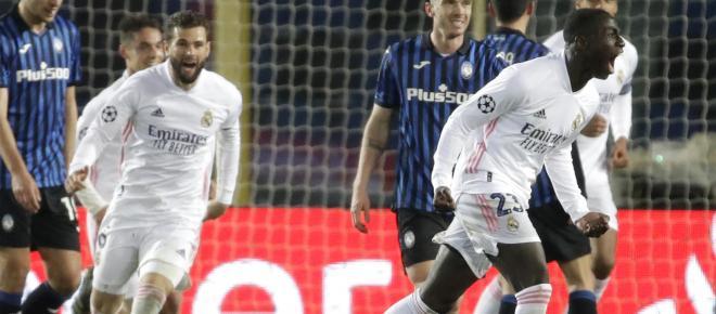 El Real Madrid con golazo de Mendy gana 1-0 y marca de visita en casa del Atalanta