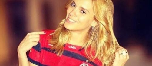 A atriz é flamenguista. (Reprodução/Instagram)