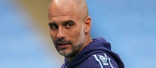 Calcio - Pep Guardiola, allenatore Manchester City (skysports.com).