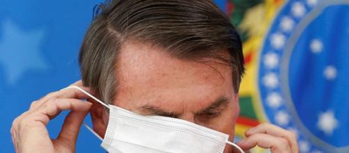 Jair Bolsonaro faz críticas ao uso de máscaras. (Arquivo Blastingnews)