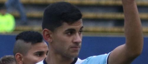 Christian Romero, difensore dell'Atalanta.