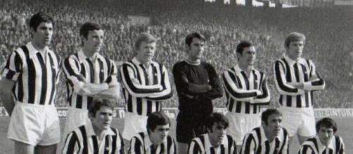 Nella foto la Juventus 1969-1970 in cui Leonardi è stato protagonista.