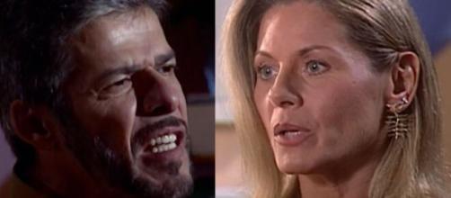 """Pedro e Helena em """"Laços de Família"""". (Reprodução/Rede Globo)"""