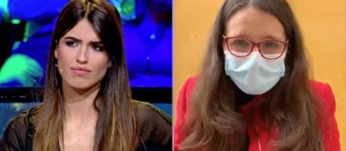 Sofía Suescun y la vicepresidenta Mónica Oltra