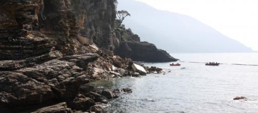 Frana cimitero di Camogli: recuperati venti feretri in mare.